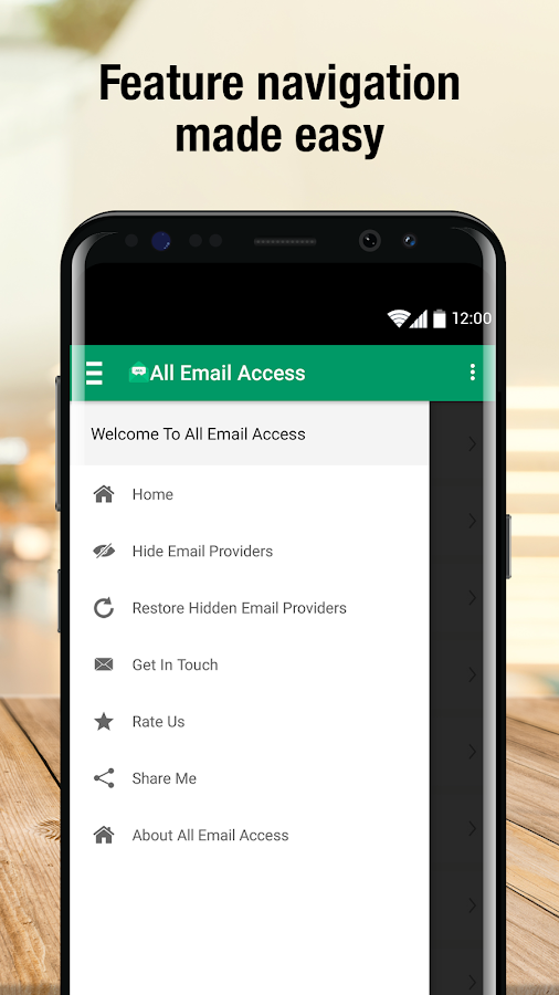 All Email Access with call screening- screenshot
