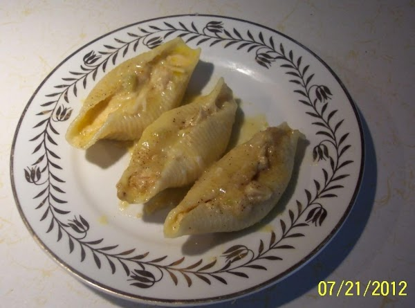 Stuffed Chicken Shells....a Pantry Throw Together Recipe