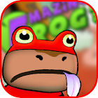 the Amazing-frog 3D icon