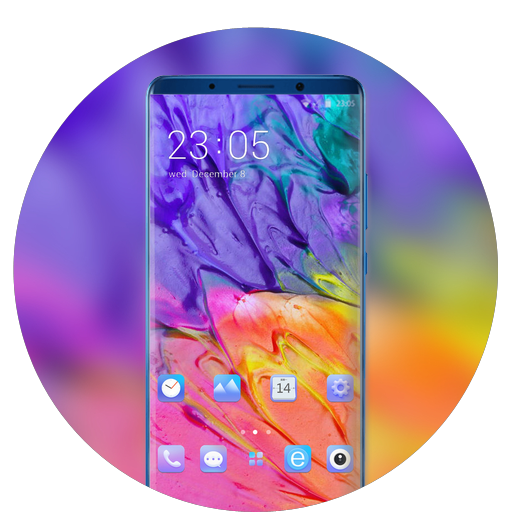 Colorful Theme for animated wallpaper icon