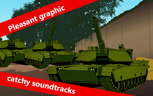 Modern Iron Battle Tank Puzzle