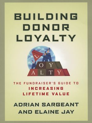 Nonprofit Book: Building Donor Loyalty