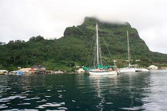 Photo: Vaitape Anchorage,Bora Bora