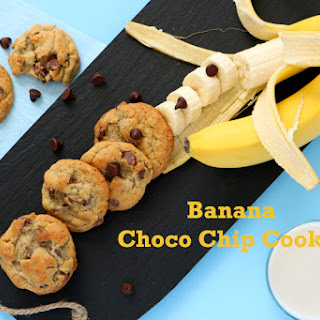 Banana Choco Chip Cookie
