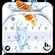 Animated Cute Fish Keyboard Theme