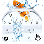 Animated Cute Fish Keyboard Theme