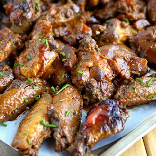 Slow Cooker Honey Pineapple Chicken Wings.