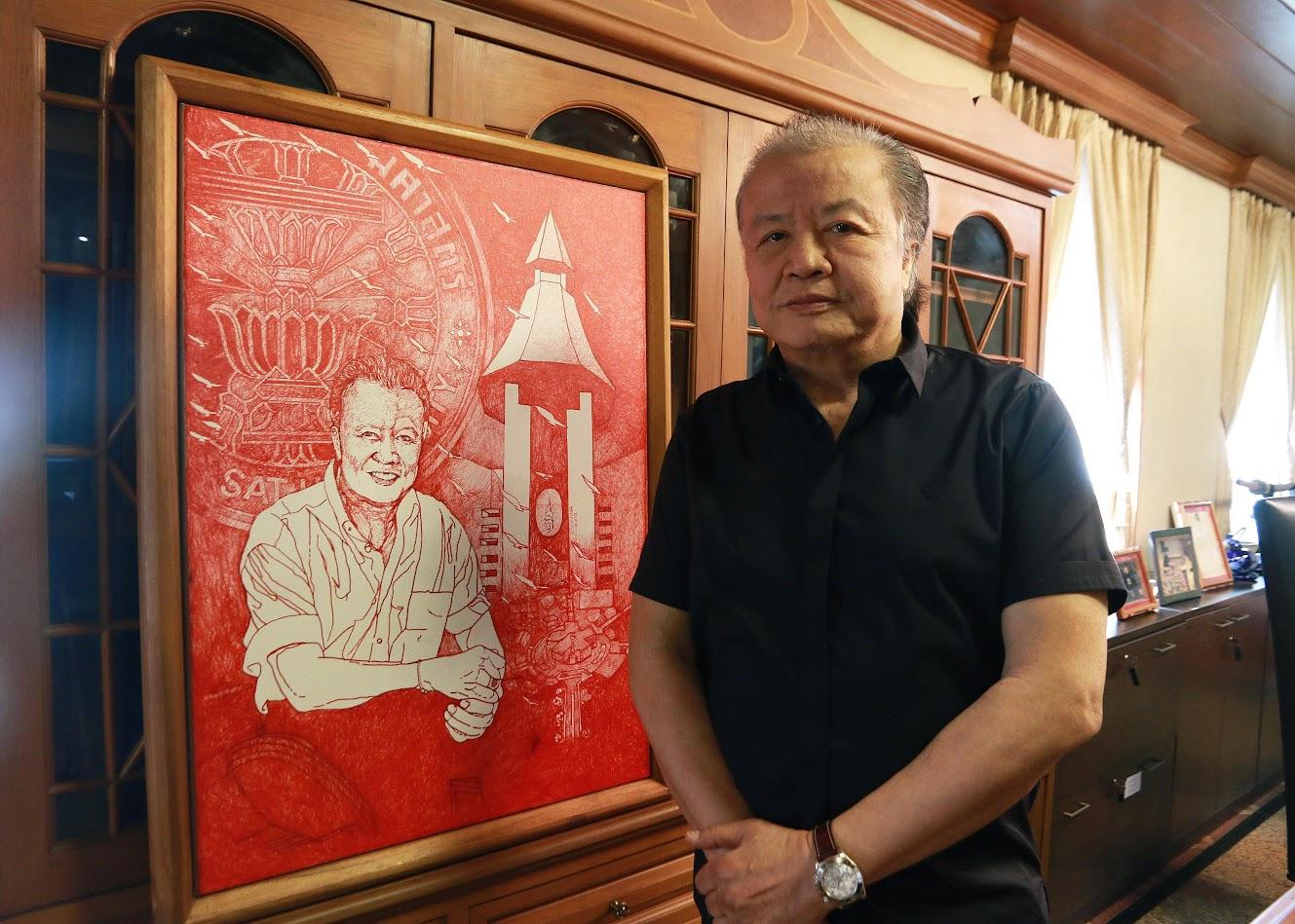 นายบุญชู ตรีทอง อดีตรัฐมนตรีว่าการทบวงมหาวิทยาลัย และอดีตสมาชิกสภาผู้แทนราษฎร จังหวัดลำปาง