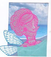 Photo: Wenchkin's Mail Art 366 - Day 118, card 118b