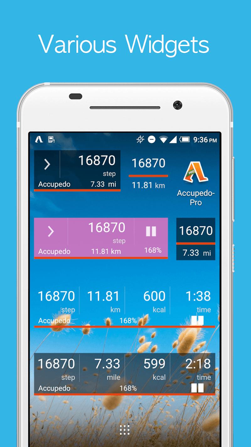 Accupedo-Pro Pedometer - Step Counter Screenshot 6