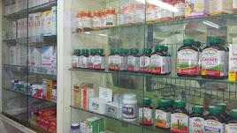 Expositor farmacia