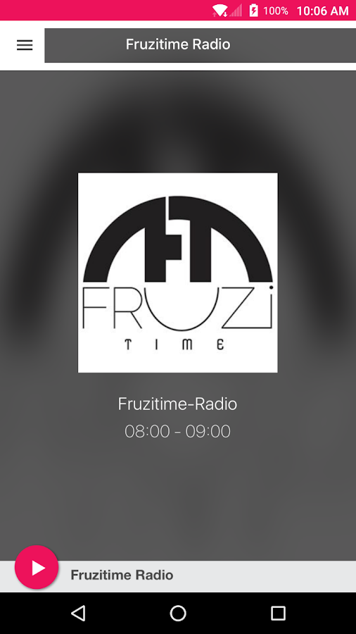 Fruzitime-Radio- screenshot