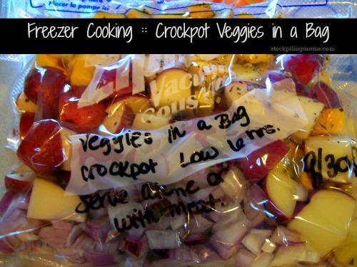 Crockpot Veggies in a Bag