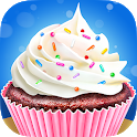 Cupcake Maker - Sweet Dessert Cooking Chef Kitchen icon