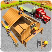 Wood House Construction Simulator 2018 Android APK Download Free By Freeze Games