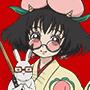 ピーチマキ&芥子アイコン
