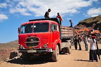 Photo: road building - very popular in Ethiopia