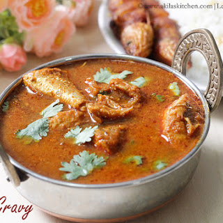 How to make Meen Kuzhambu / Spicy Fish Gravy.