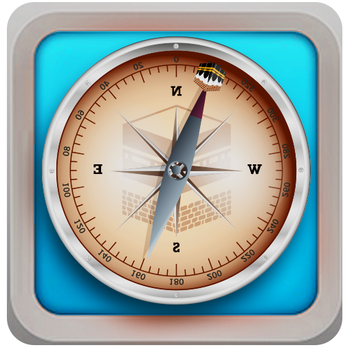 Qibla  Compass Direction Finder - Prayer Time