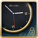 Luxury Clock CM Locker Theme icon