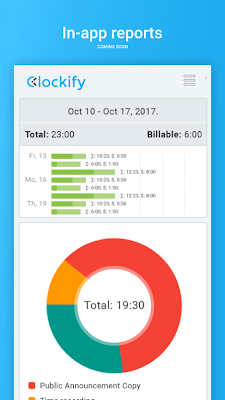 Clockify Time Tracker & Timesheet on Google Play Reviews | Stats