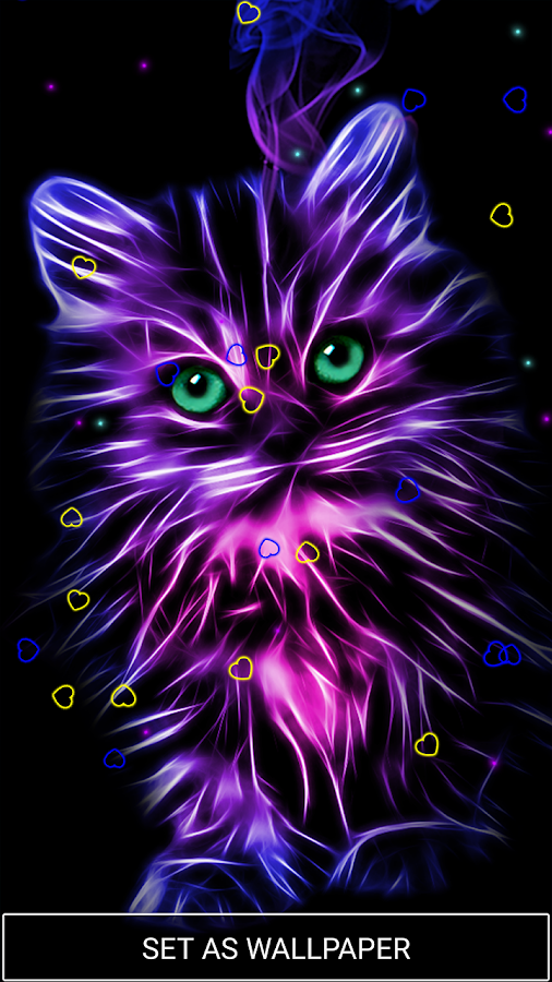 Neon Animal Wallpapers: Neon Animals Wallpaper Moving Backgrounds