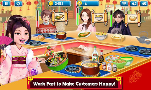 Chinese Food Court Super Chef Story Cooking Games 1.3 screenshots 5