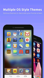 OS11 & Phone 8 Launcher - náhled