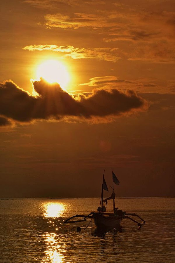 Perahu Nelayan by Bonie Hermansyah  - Landscapes Sunsets & Sunrises