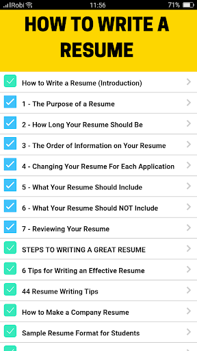 1000+ Resume Examples 4.0 screenshots 4