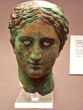 Photo: Bronze head. Cilicia 150-100 BC