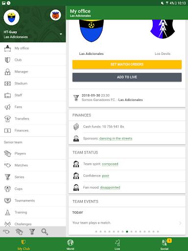 Hattrick Football Manager Game apktram screenshots 16