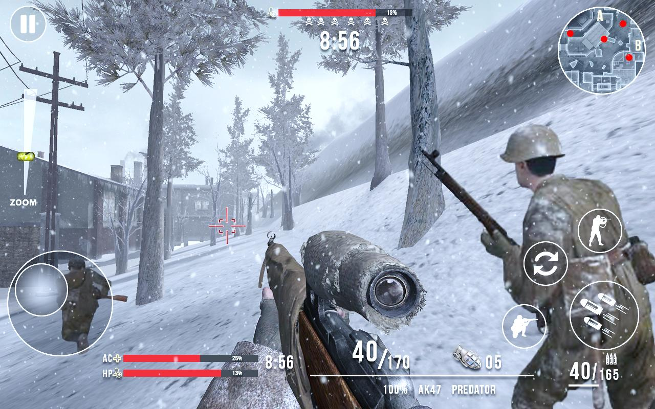 Call of Sniper ww2 Mod Apk (Unlimited Money) 5