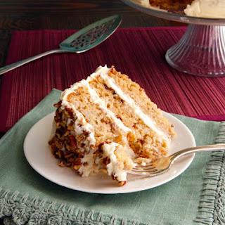 Hummingbird Cake (Banana-Pineapple Cake).