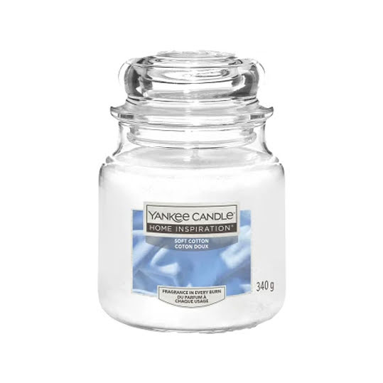 Yankee Candle Soft Cotton Doftljus 340g