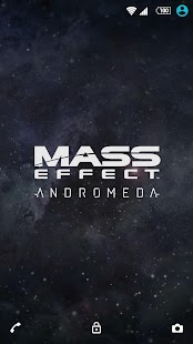 XPERIA™ Mass Effect™ Theme - náhled