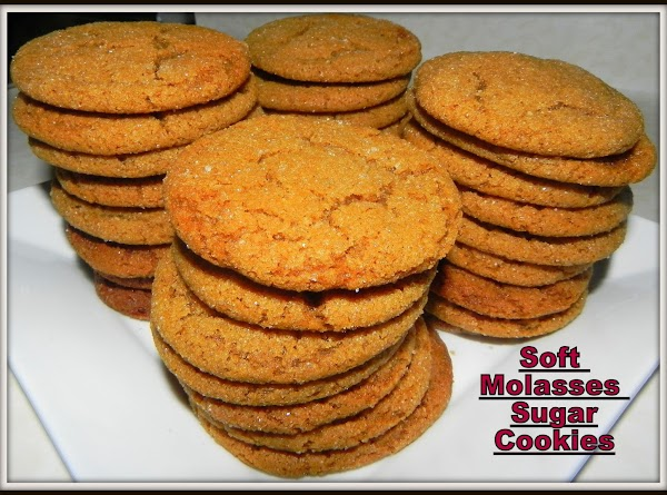 Soft Molasses Sugar Cookies Recipe