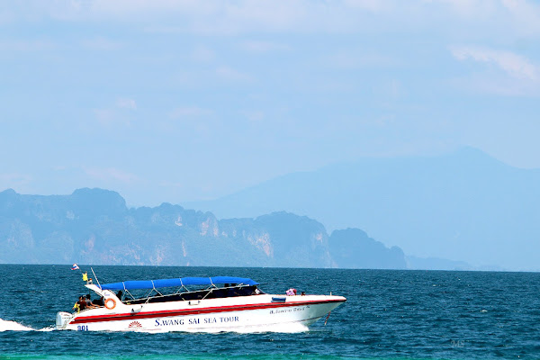 Cruise by speed boat from Krabi to Koh Rok