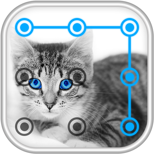Cat Pattern Screen Lock