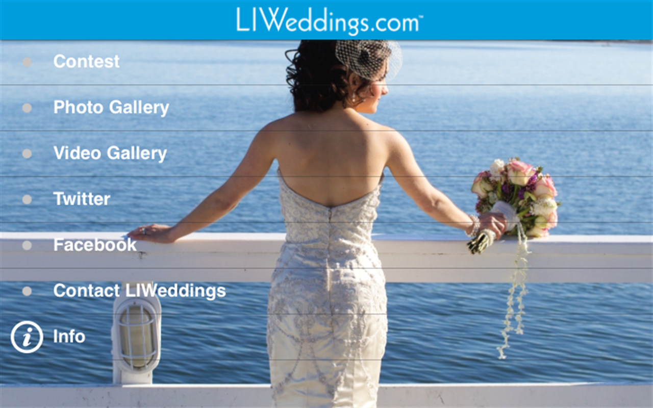 LIWeddings.com- screenshot