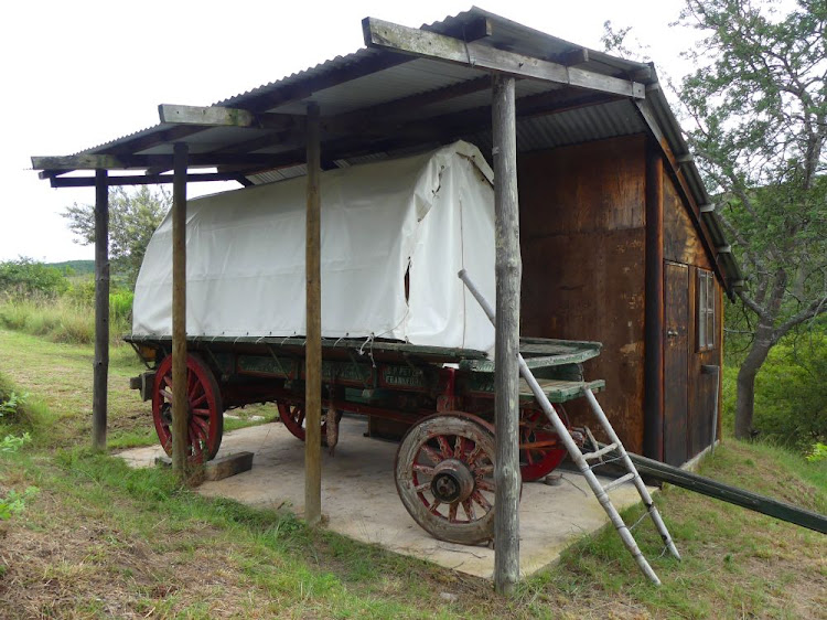Bergrivier vintage ox wagons offer a unique overnight experience