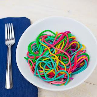 Easy Rainbow Pasta