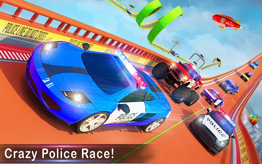 Police Ramp Car Stunts GT Racing Car Stunts Game 1.3.0 screenshots 12