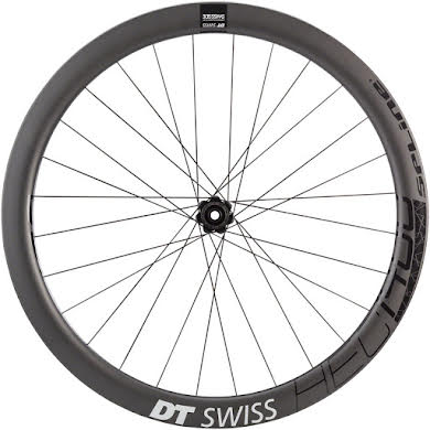 DT Swiss HEC 1400 Spline 47 Rear Wheel - 700, 12 x 142mm, Center-Lock/6-Bolt, HG 11/ XDR, Black alternate image 2