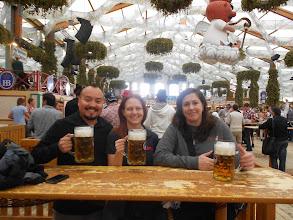 Photo: Beer as big as my head!