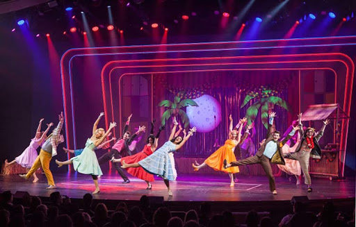 "A scene from ""Grease"" on Royal Caribbean's Harmony of the Seas."