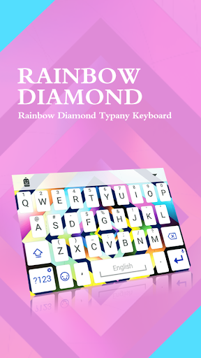 Rainbow Diamond Typany Theme  screenshots 1
