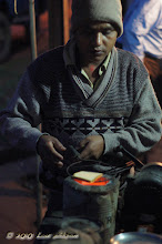 Photo: Baliguda Orissa Breakfast Over Charcoal See MOVIE - Orissa India Restaurants 2010 http://www.youtube.com/user/sufibooks#p/u/4/X6MORR6PFfY