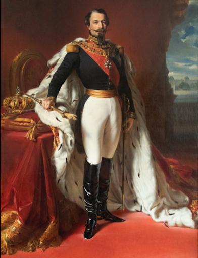 Portrait de l'Empereur Napoléon III