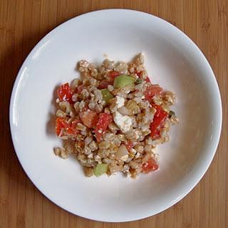 Farro Salad with Feta